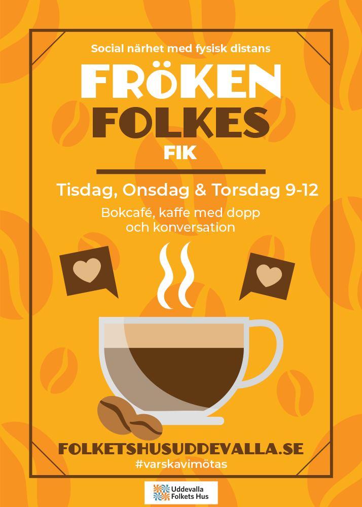 Affisch för Fröken Folkes Fik